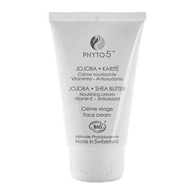 Jojoba Shea Butter Facial Moisturizer and Cream by Phyto 5 - Natural