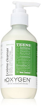 Oxygen Teen Cream Facial Cleanser for Normal/Dry Skin