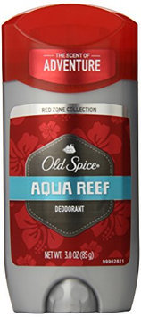 Old Spice Red Zone Collection Aqua Reef Scent Men's Deodorant 3 Oz