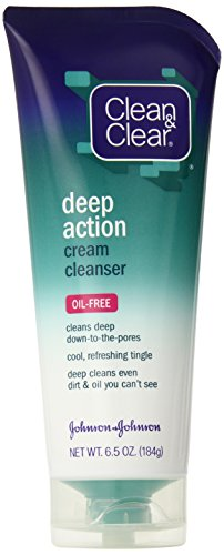 Clean & Clear Oil Free Deep Action Cream Cleanser