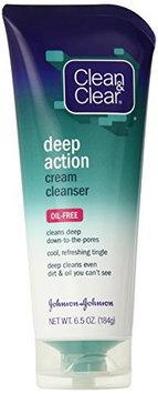 Clean & Clear Oil Free Deep Action Cream Cleanser