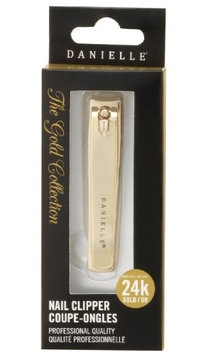 Danielle Gold Plated Stainless Steel Nail Clipper
