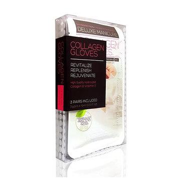 Voesh Mani.Pedi-Cure System Dry Manicure Collagen Gloves