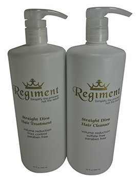 Regiment Straight Diva B3 Sulfate Free Scalp Cleanser & Hair Treatment