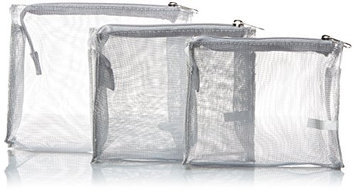 Harry D Koenig & Co Cosmetic Bag 3 Piece Set