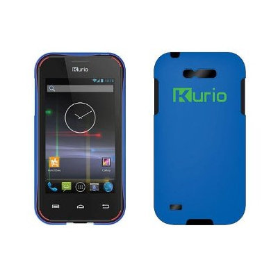Kurio Android Smartphone with Blue Case
