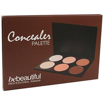 Bebeautiful Concealer 6 Shades Palette