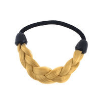 Uxcell Braided Wig Linked Elastic Girls Ponytail Holder Hair Band