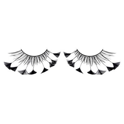 Baci Paradise Dreams Style No.608 Feather Eyelashes with Adhesive Included