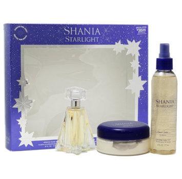 Shania Twain Starlight Gift Set for Women (Eau De Toilette Spray