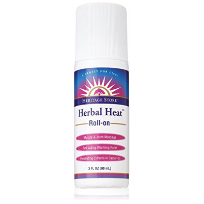 Heritage Store Herbal Heat Roll-On