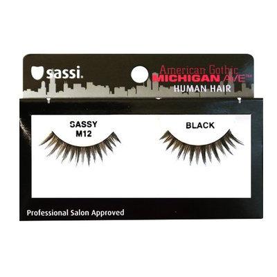 Sassi 804-M12 Michigan Ave 100% Human Hair Sassy Eyelashes
