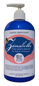 Zanabella Plant Based Skincare Rose Water Body Crème