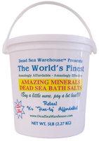 Dead Sea Warehouse Dead Sea Amazing Minerals Bath Salts Bucket