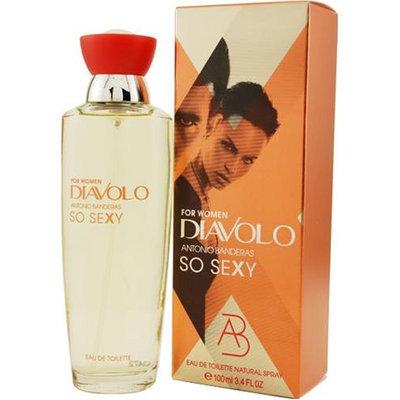 Diavolo So Sexy By Antonio Banderas For Women. Eau De Toilette Spray 3.4-Ounces
