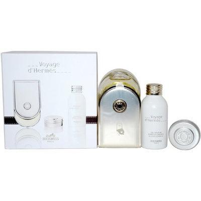 Hermes Voyage D'Hermes Gift Set for Unisex (Eau De Toilette Spray (Refillable)