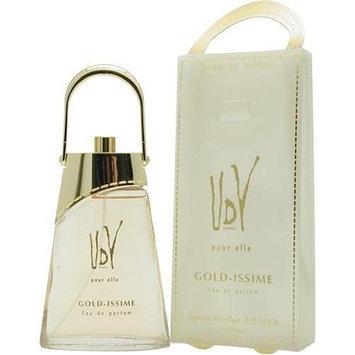 Udv Gold Issime By Ulric De Varens For Women. Eau De Parfum Spray 2.5 OZ