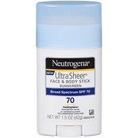 Neutrogena Sunscreen Ultra Sheer Stick SPF 70