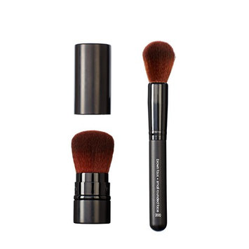 Makeover Vegan Love Retractable Buki and Rounded Face Brush