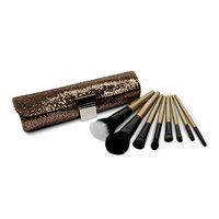 Royal Brush Gems Gold Case with 8 Piece Brush Set