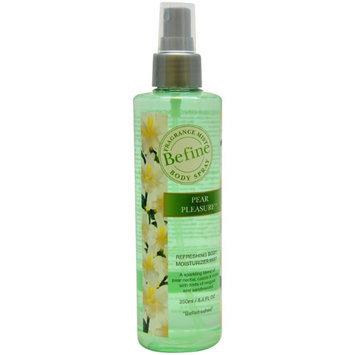 Befine Pear Pleasure Refreshing Body Moisturizer Mist Body Spray for Women