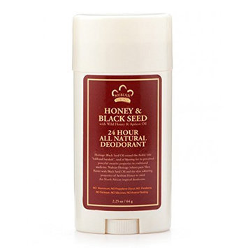 South of France Nubian Heritage Honey and Black Seed Deodorant with Apricot Oil and Wild Honey