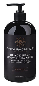 Shea Radiance Brighten Scent Black Soap Body Cleanser