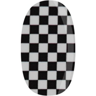 Skinz Nail Decals 24 Count Checker Board