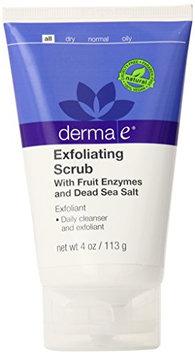 derma e Exfoliating Scrub Fruit Enzymes and Dead Sea Salt Exfoliant