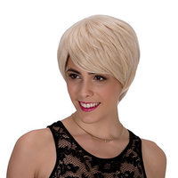 Probeauty Short Synthetic Hair Women Ladies Daily Use Replacement Wig