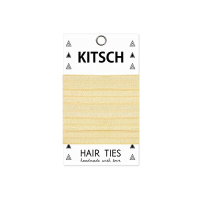 Kitsch 5 Piece Solid Hair Ties Set