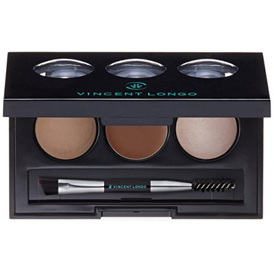 VINCENT LONGO Powder Pomade Eyebrow Kit