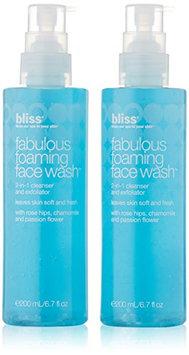 bliss Fabulous Foaming Face Wash Gel Set