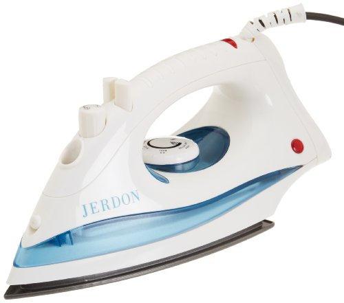 Jerdon J513W Dual Automatic Shut-Off Midsize Iron with 9-Foot Cord