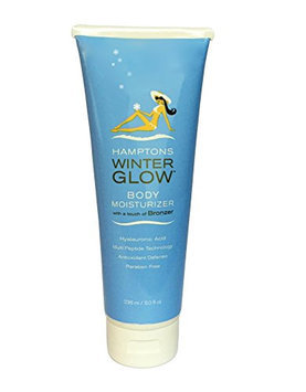 Hamptons Winter Glow - Winter Moisturizer & Very Light Bronzer for Use During Winter Months Alcohol-Free