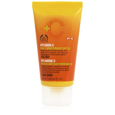 The Body Shop SPF 30 Vitamin-C Daily Moisturizer for Unisex