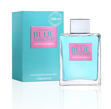 Antonio Banderas Blue Seduction Eau De Toilette Spray for Women
