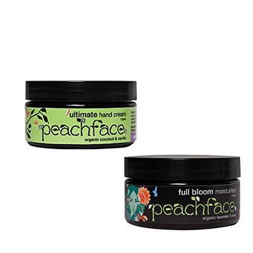 Peachface Teen Moisture Gift Set Full Bloom Moisturiser and Ultimate Hand Cream