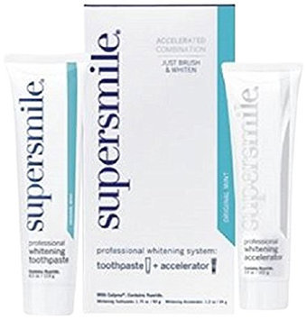 Supersmile Professional Whitening System Toothpaste and Whitening Accelerator