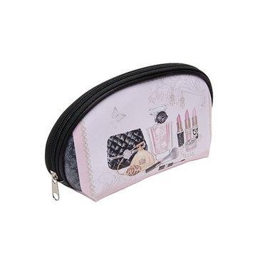 Harry D Koenig & Co Dome Makeup Print Cosmetic Bag