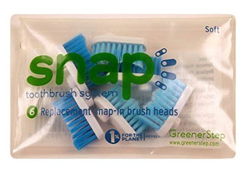 Snap Toothbrush System GreenerStep Replacement Heads