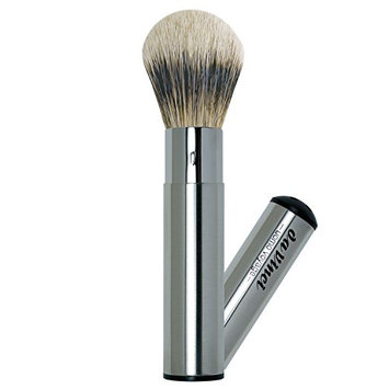 Da Vinci Series 295 Uomo Voyage Retractable Travel Shaving Brush Silvertip Badger