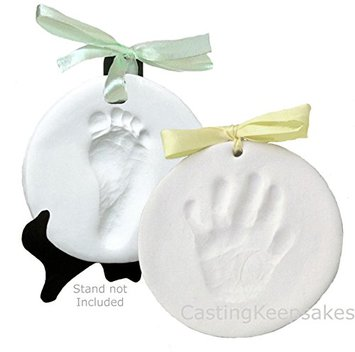 Clay Hanging Keepsake Handprint & Footprint Ornament Kit