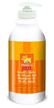 Janice Kids Goat's Milk and Argan Oil Shampoo and Body Wash