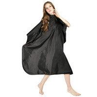 Icarus Professional Nylon Hair Styling Salon Cape with Snaps
