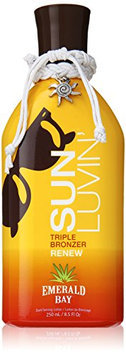 2011 Emerald Bay SUN LUVIN Triple Bronzer Tanning Lotion 8.5 oz.