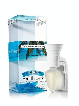 Bath & Body Works Cool Tropical Breeze Odor Neutralizing Wallflower Starter Set