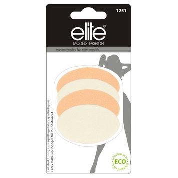 Elite Models 4 Piece Latex Make Up Sponges Set