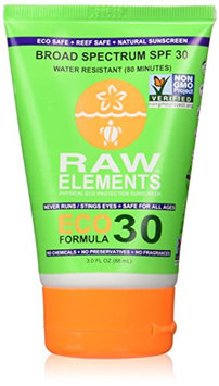 Raw Elements Eco Form Sunscreen