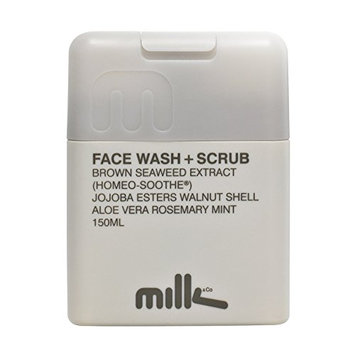 Milk & Co. Natural Face Wash and Scrub